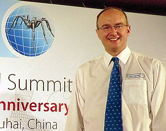 Clive Martell, CEO of Delcam, at the venue of Delcam Asian Technical Summit 2011