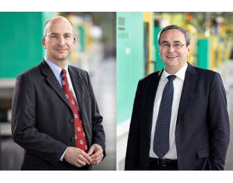 Managing Director, Technology & Engineering, Heinz Gaub (left), and Managing Director, Sales, Helmut Heinson