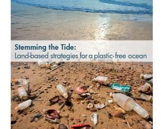 According to the Stemming the Tide report, 8 million metric tons of plastics leak into the world's ocean every year.