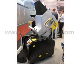 A Rapid 200 granulator being shown at Fakuma 2015.