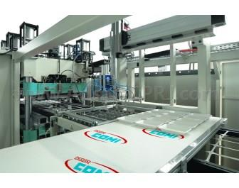 The new ACF 820 thermoforming machine from Amut Comi.