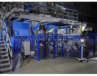 KBSmart 120 extrusion blow molding machine from Kautex.