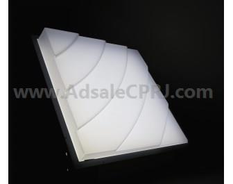 New UltraTuf LED sheet offers enhanced design flexibility while effectively diffusing hot spots.
