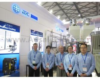 Paul Grekowicz (left), Vice President, Marketing & Product Development, and the ACS team in China.