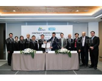 The official contract signing ceremony took place in Bangkok.