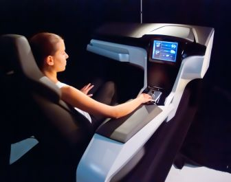 A future automobile cockpit without buttons and switches will be a highlight at Engel's booth at NPE 2012 <i>(Image source: Magna)</i>